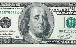 Benjamin Franklin triste Image stock
