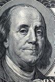 Benjamin Franklin, un retrato Imagen de archivo libre de regalías