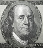Benjamin Franklin UNO Fotografía de archivo libre de regalías