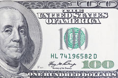 Benjamin Franklin Upclose Royalty Free Stock Images