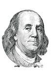 Benjamin Franklin (wektor) Zdjęcia Royalty Free