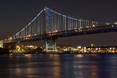 Benjamin- Franklinbrücke Lizenzfreies Stockbild