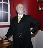 Benjamin Harrison. Was the 23rd President of the United States.  He is brought to life with this wax figure at Madame Tussauds in Washington, DC; March 3, 2012 Royalty Free Stock Photos
