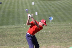 Benjamin Hebert at Andalucia Golf Open, Marbella Royalty Free Stock Image