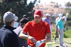 Benjamin Hebert a golf aperto, Marbella di Andalusia Fotografia Stock Libera da Diritti