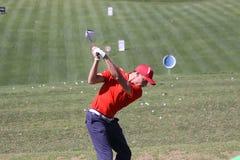 Benjamin Hebert a golf aperto, Marbella di Andalusia Immagine Stock Libera da Diritti