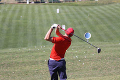 Benjamin Hebert a golf aperto, Marbella di Andalusia Immagine Stock