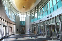 The Benjamin L. Hooks Central Library, Memphis, Tennessee. Royalty Free Stock Photos