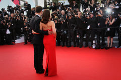 Benjamin Millepied and Natalie Portman Royalty Free Stock Images