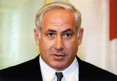 Benjamin Netanyahu Royaltyfri Foto