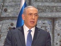 Benjamin Netanyahu Photographie stock libre de droits