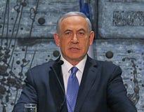 Benjamin Netanyahu 库存图片