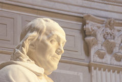 Benjamin Pomnik Franklin Obraz Royalty Free