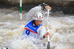 Benjamin Savsek - water slalom world championship Stock Photography
