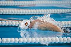 Benjamin Starke swimming Butterfly Royalty Free Stock Photography