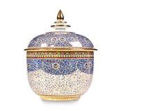 Benjarong ceramics Royalty Free Stock Photography