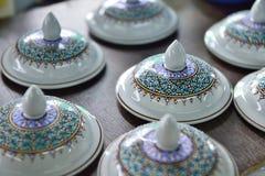 Benjarong de cerámica Fotografía de archivo libre de regalías