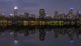 Benjasiri公园曼谷 库存照片