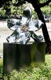 Benjasiri公园看法雕象  免版税库存照片