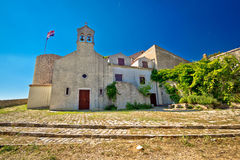 Benkoval historic old stone town fort and chapel Stock Photo