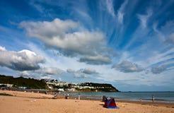 Benllech beach Royalty Free Stock Images