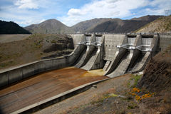 Benmore Dam, New Zealand Royalty Free Stock Image
