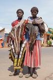 Benna, Äthiopien, Afrika Stockfoto