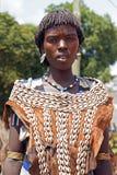 Benna, Äthiopien, Afrika Stockbild