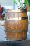 Benna antica della birra Immagini Stock
