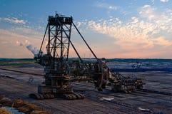 Benna da scavo gigante Immagine Stock