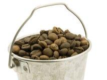 Benna del caffè dei fagioli Immagini Stock