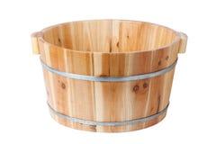 Benna di legno immagine stock