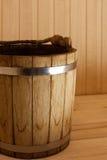 Benna di legno Fotografie Stock Libere da Diritti