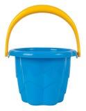 Benna di plastica blu del giocattolo immagine stock