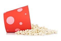 Benna di popcorn Immagini Stock Libere da Diritti