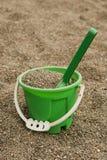 Benna verde della sabbia fotografia stock libera da diritti