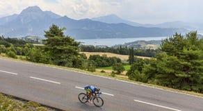 骑自行车者达尼埃莱Bennati 库存图片