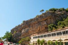 Benne suspendue de grotte de Jeita photo libre de droits