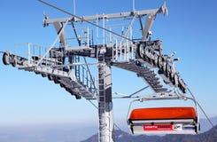Benne suspendue moderne dans Jasna - bas Tatras, Slov Images libres de droits