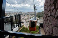 Benne suspendue Zacatecas Image libre de droits