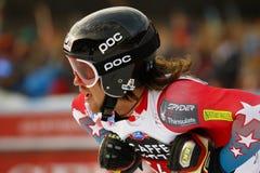 BENNETT Bryce in FIS alpiner Ski World Cup - der SUPER-G der 3. MÄNNER Lizenzfreies Stockbild