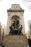 Bennett Memorial Herald Square Fotografering för Bildbyråer