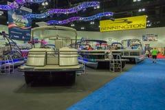Bennington boats on display Royalty Free Stock Photography