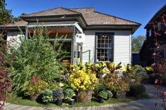 Bennington vermont state usa pottery house stock image