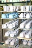 Bennington vermont state usa pottery house. There is one of the famous attraction of Bennington, State Vermont, USA as Pottery  House  with  active pottery right Stock Images