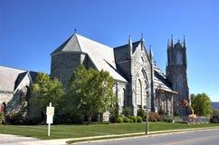 Bennington Vermont usa miasta ulica obraz stock