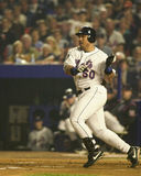 Benny Agbayani batting in the 2000 World Series Stock Photo