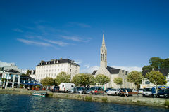 Benodet in brittany royalty free stock photography