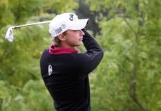 Benoit Bozio at the Golf Open de Paris 2009 Royalty Free Stock Photos