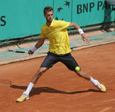 Benoit PAIRE (FRA) at Roland Garros 2010 Royalty Free Stock Photos